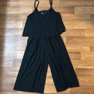 Uniqlo Black Jumpsuit